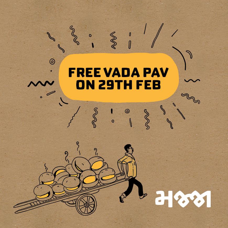 Free-vada-pav-on-29th-Feb