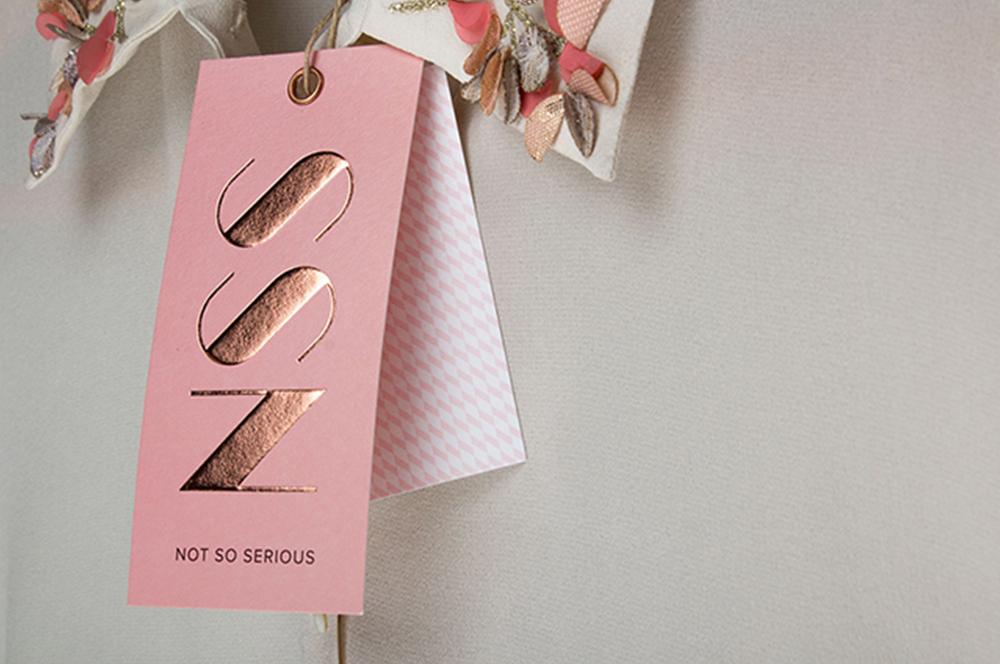 Rebranding a Luxury fashion label   Not So Serious
