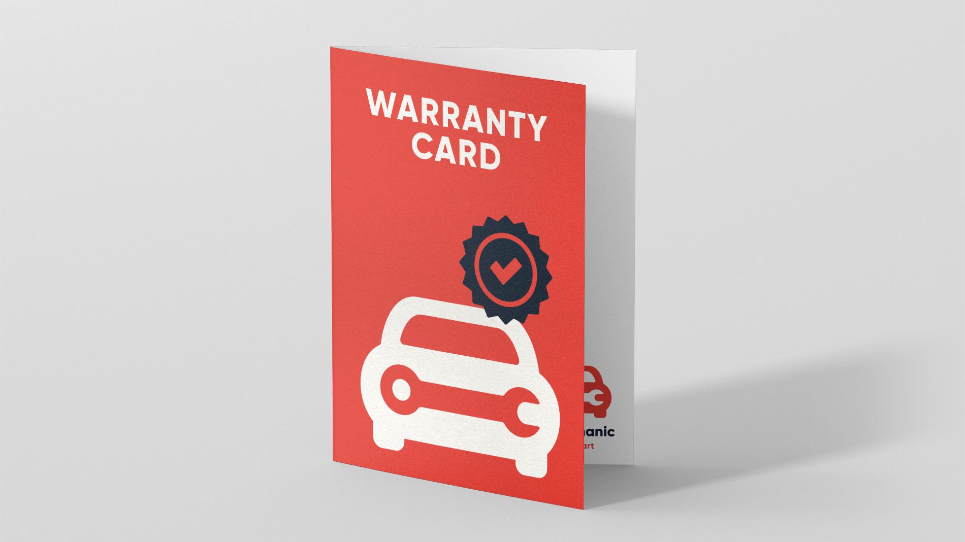 WarrantyCard