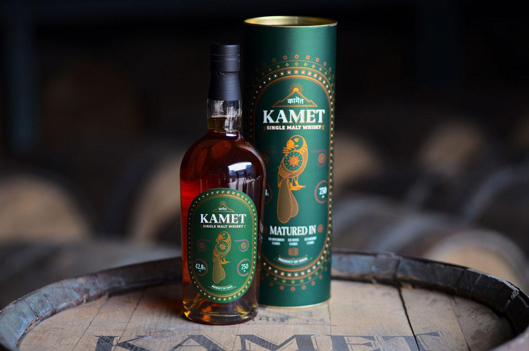 Whisky Label | Kamet by Peak Spirits